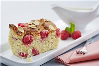 Cranberry/Raspberry and Apple Bakewell